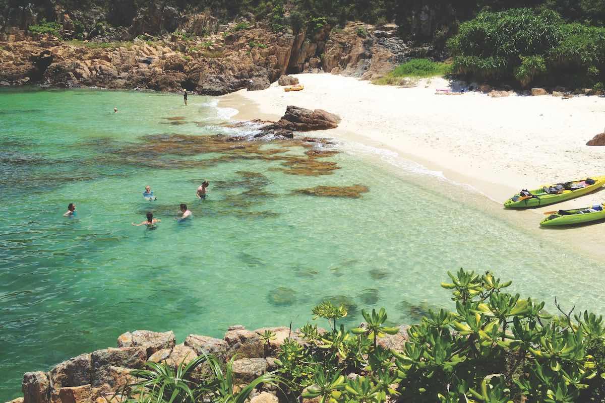 Millionaires beach