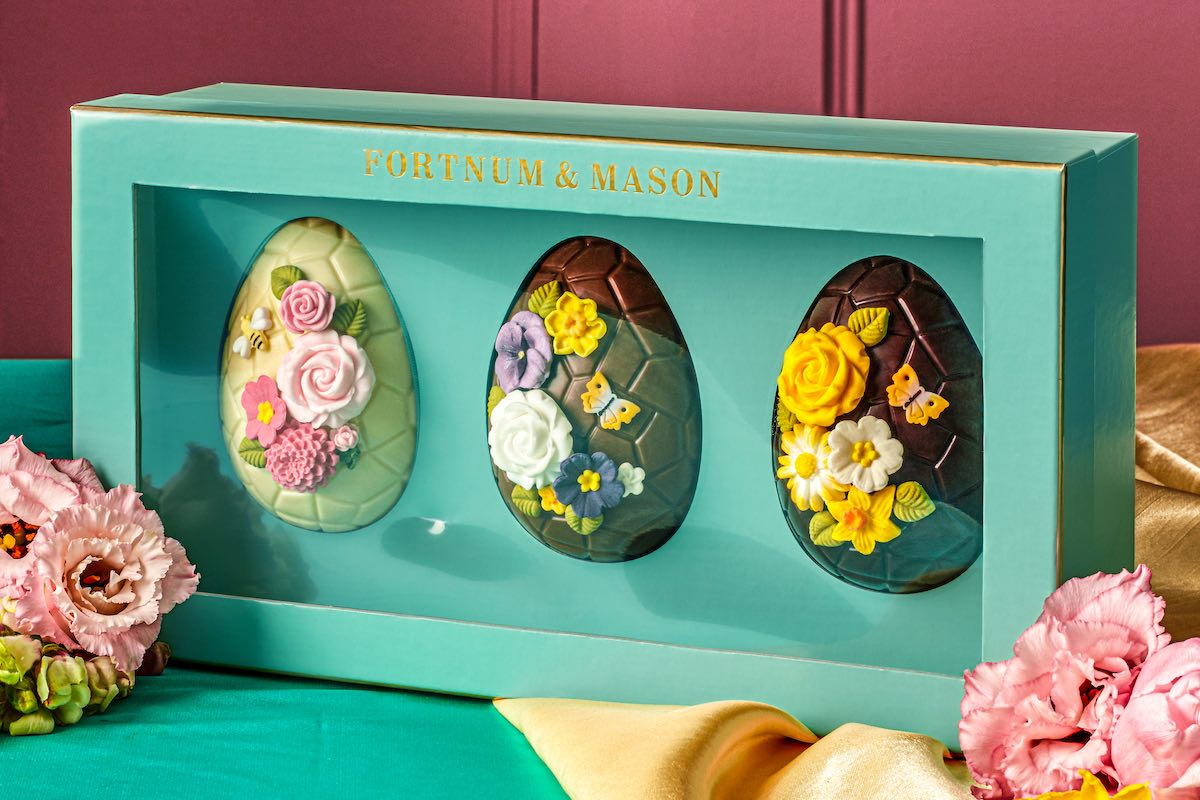 Easter Gift Guide Fortnum & Mason Three Beautiful Easter Eggs
