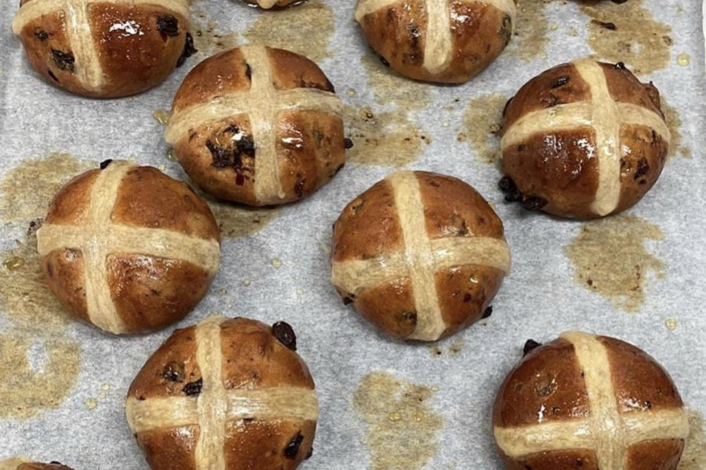 Hot Cross Buns Proof.
