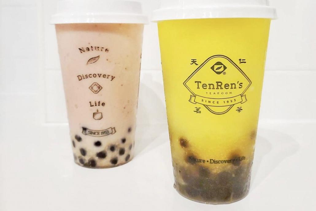 Bubble Tea Ten Ren's Tea