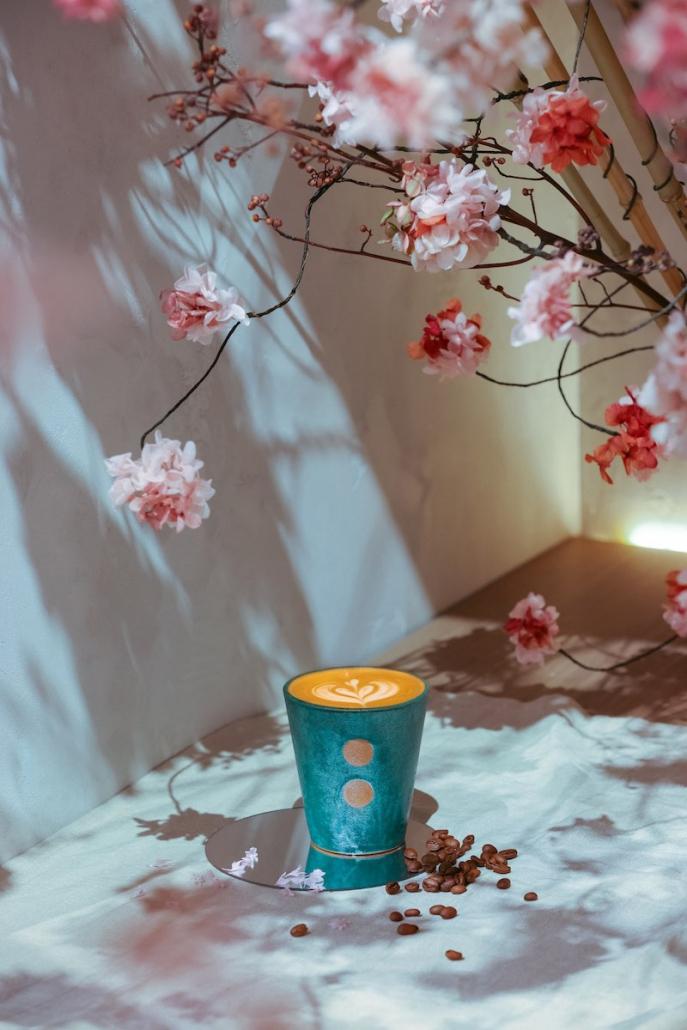 Flower Power Spring Menus Natura Signature Latte