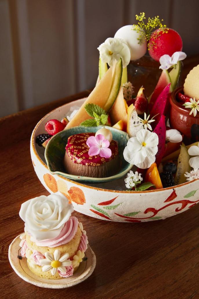 Mother's Day Dining Zuma dessert platter