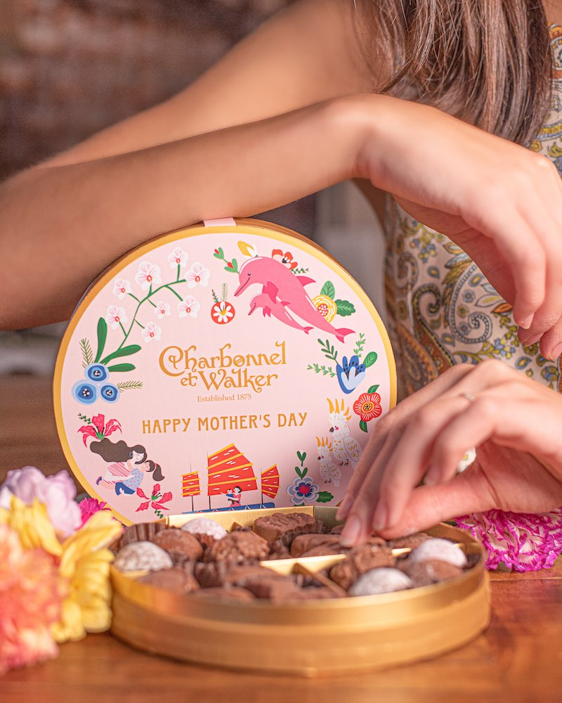 Mother's Day Gift Guide Charbonnel et Walker Colour My Heart truffles