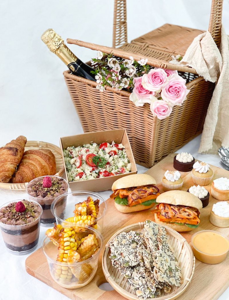 Mother's Day The Cakery vegan picnic basket