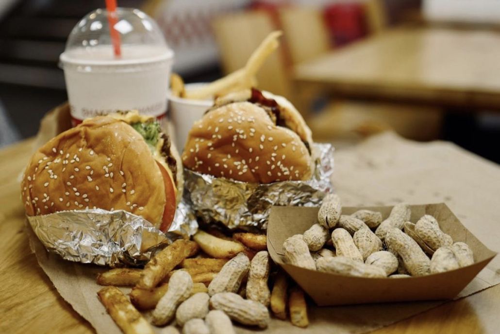 Peanut Butter Dishes Five Guys